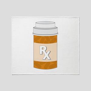 Prescription Bottle Throw Blanket