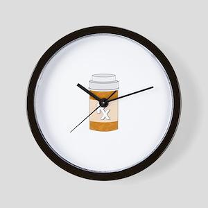 Prescription Bottle Wall Clock
