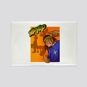 HipHop man with hair band Magnets