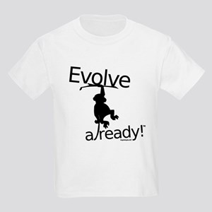 Evolve already Monkey Kids Light T-Shirt