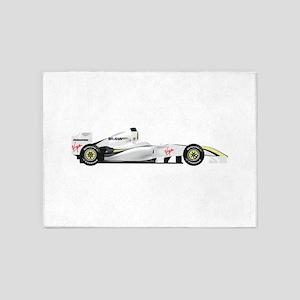 Brawn GP Mercedes 5'x7'Area Rug