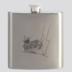 Crooked House Flask