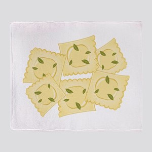 Ravioli Pasta Throw Blanket