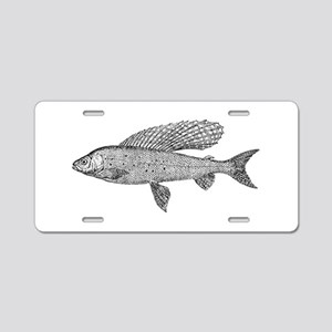 Grayling Aluminum License Plate