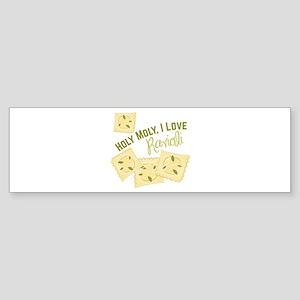 I Love Ravioli Bumper Sticker