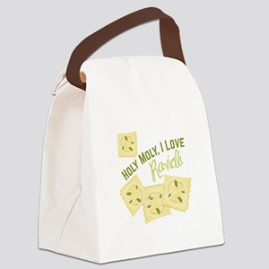 I Love Ravioli Canvas Lunch Bag