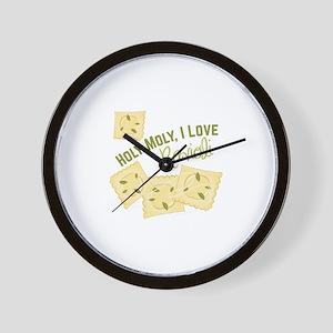 I Love Ravioli Wall Clock