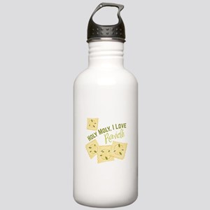 I Love Ravioli Water Bottle