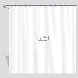 Stevens Pass Ski Area - Stevens P Shower Curtain