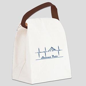 Stevens Pass Ski Area - Stevens Canvas Lunch Bag