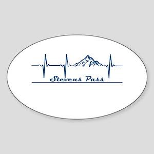 Stevens Pass Ski Area - Stevens Pass - W Sticker