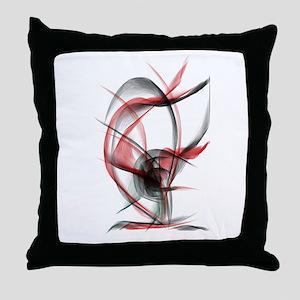 rose red x2500 Throw Pillow