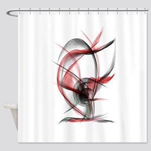 rose red x2500 Shower Curtain