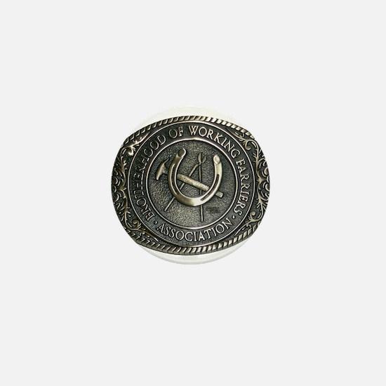 BWFA Belt Buckle Mini Button