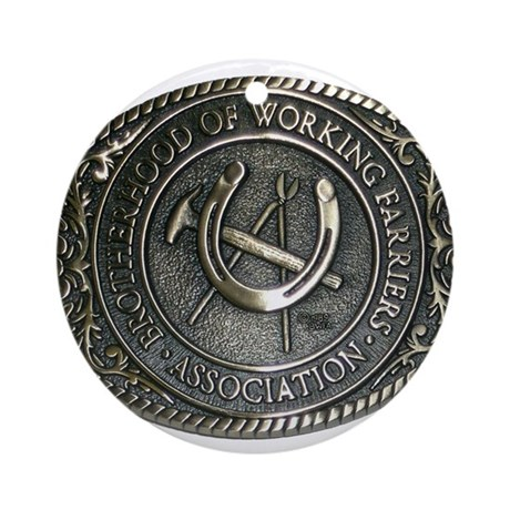 BWFA Belt Buckle Ornament (Round)