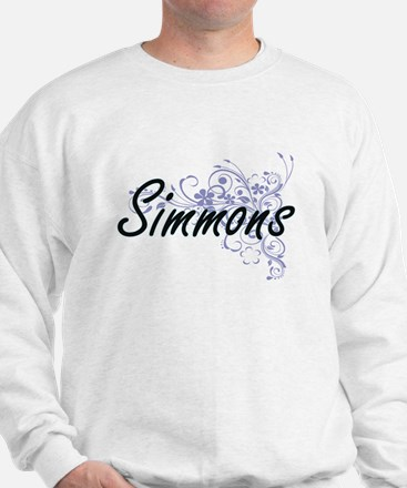 Simmons surname artistic design with Fl Sweatshirt