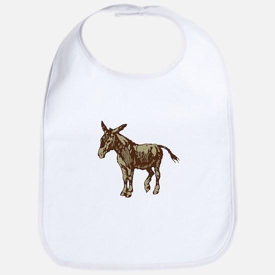 Image Donkey clip art Bib
