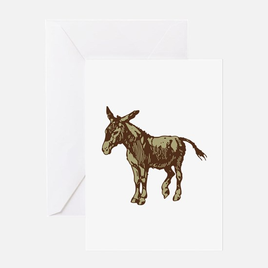 Image Donkey clip art Greeting Cards