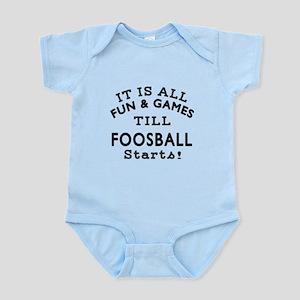 Foosball Fun And Games Designs Infant Bodysuit