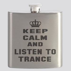 Keep calm and listen to Trance Flask