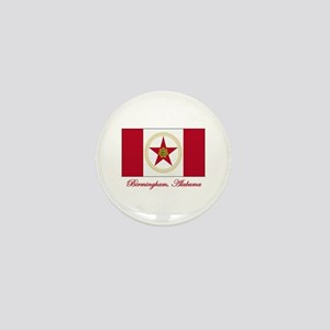 Birmingham AL Flag Mini Button