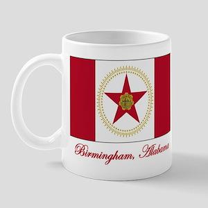 Birmingham AL Flag Mug
