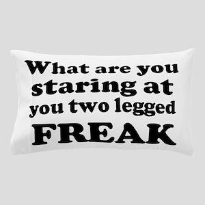 Two legged Freak Pillow Case
