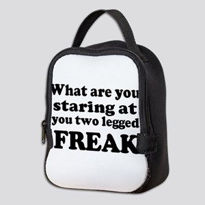 Two legged Freak Neoprene Lunch Bag