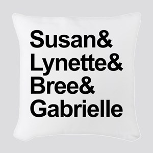 Desperate Housewives Cast Woven Throw Pillow