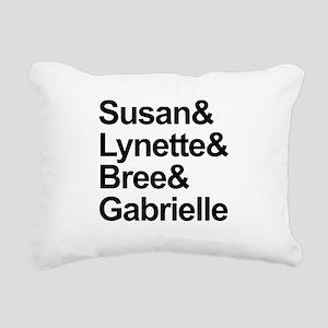 Desperate Housewives Cas Rectangular Canvas Pillow