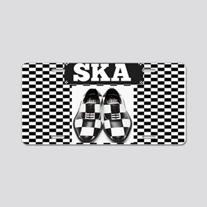 SKA Aluminum License Plate