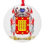 Saavedra Round Ornament