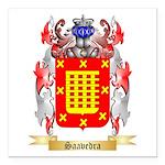 Saavedra Square Car Magnet 3