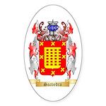 Saavedra Sticker (Oval)