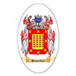 Saavedra Sticker (Oval 50 pk)