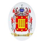 Saavedra Oval Ornament