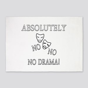 Absolutely No Drama 5'x7'Area Rug