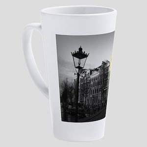 Keizersgracht Amsterdam - Amsterda 17 oz Latte Mug