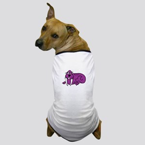 Walrus pink Dog T-Shirt