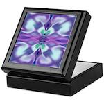 'Virtual Violets' Tile/Trinket Box
