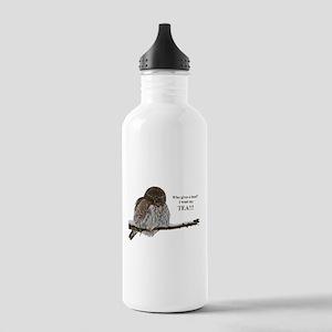 Tea Owl Water Bottle