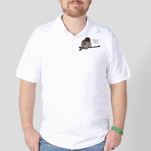 Tea Owl Golf Shirt