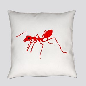 Red ant Everyday Pillow