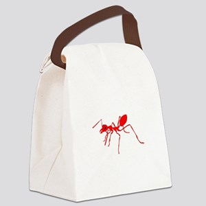 Red ant Canvas Lunch Bag