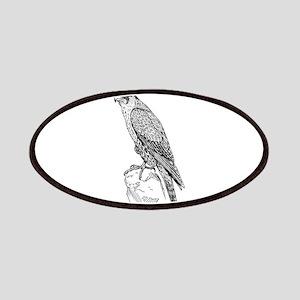 Peregrine falcon Patch