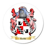 Raible Round Car Magnet