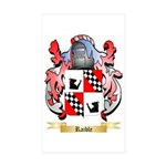Raible Sticker (Rectangle 50 pk)