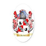 Raiber Oval Car Magnet