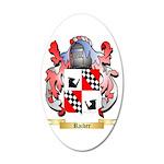 Raiber 20x12 Oval Wall Decal