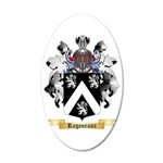 Ragoneaux 35x21 Oval Wall Decal